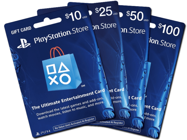 PS5 GIFT CARDS